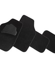 4pcs almofadas do pé universais pé do mastro pvc veludo macio e confortável para o carro