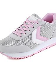 Zapatos de mujer ( Rosado/Rojo/Gris Sintético