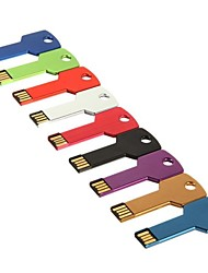 8gb unidade flash USB Key estilo (cores sortidas)