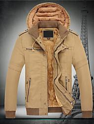 Hotta Men's Long Sleeve Slim Fashion Hoodie Causual Thicken Jackets