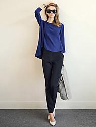 maifeng Frauen neue Mode Temperament kausalen losen großen Hof Top-Anzug neunten Hose