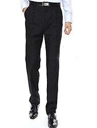 Men's Korean Style Pure Long Business trousers