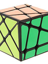 moyu louco cubo mágico 3x3x3 yileng pescador velocidade (preto)