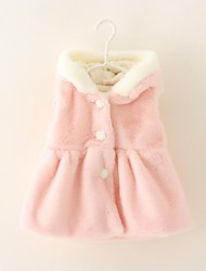 Girl's Jacket & Coat,Solid Cotton Winter / Fall