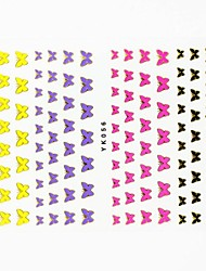 Lovely Nail Art Stickers Decals Wedding Lace Series Nail Accessory for Acrylic Nail Tips DIY Nail Art DecorationsNO.YK56