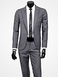 Men's Korean Style British Tide Of Slim  Suits