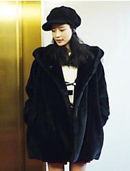 Warm Heart Women's Winter New Style All Match Fur Coat