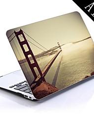 de zee brug ontwerp full-body beschermende plastic behuizing voor de 11-inch / 13-inch nieuwe MacBook Air