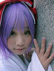 Lucky Star Tsukasa Hiiragi  Purple Cosplay Wig