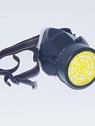 plástico carbón activado gas protector media máscara