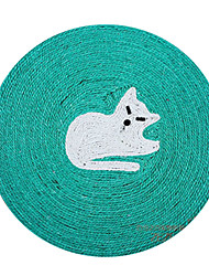 animaux mignon jouet sisal naturel forme kitty chats de compagnie griffoir