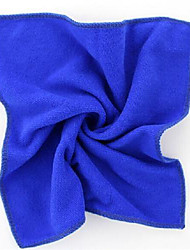 Multifunctional Superfine Fiber Small Towel (Random Color)