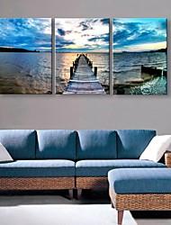 impression sur toile personnalisée côte 35x50cm 40x60cm peinture sur toile encadrée ensemble de 3