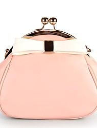 PU Casual/School Cross-Body bags with Bowknot