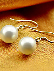Weiyinyuan Fashion Sterling Silver Pearl Earrings
