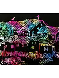 10pcs 8k pintura mágica cero papel del arte con los juguetes educativos de palo de dibujo