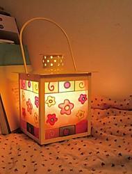 Table Lamps Warm White Light Crystal Salt Iron Art European Classic 220V