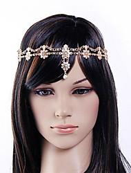 europa kleine Perle Diamant Blume Legierung Stirnbänder