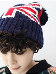unissex chapéu de lã de moda coreano