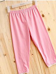 todos los pantalones de encaje color sólido E.9 de las mujeres