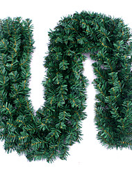 2.7m Green Colored Christmas Decorating Garland