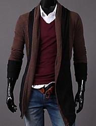 coreano tortuga estilo colas cuello chaqueta de punto de los hombres