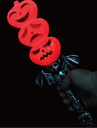 Halloween Pumpkin Props Luminous Voice Cane
