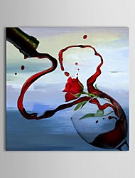 IARTS®Hand Painted Oil Painting Still Life Flow Out with Stretched Frame