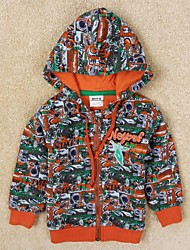 Boy's Cotton/Polyester Hoodie & Sweatshirt , Winter/Spring/Fall Long Sleeve