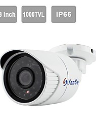 "YanSe® 1/3""CMOS IR Camera 24-LED 1000TVL Waterproof CCTV Vision Security Outdoor Cameras 721CFW"