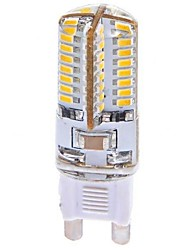 3W G9 LED Corn Lights T 64 SMD 3014 360 lm Warm White AC 100-240 V