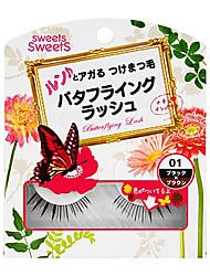 cezanne butterflying chicote # 01 x preto 1pair marrom