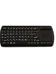 2.4G RF Wireless Handheld Mini Keyboard with Touchpad and Flashlight