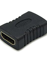 Sensèche 0.1m 0.328ft femelle HDMI vers HDMI connecteur femelle