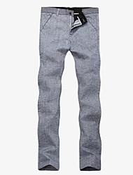 coton casual pantalons longs pour hommes