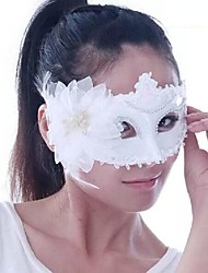 Plastic Material Fancy Dress Party Halloween Mask (Random Color)
