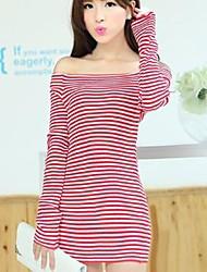 Moda slim camisa das mulheres (mais cores)