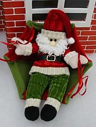 Christmas Santa Claus Parachuting Atrium Charm (Style Random)