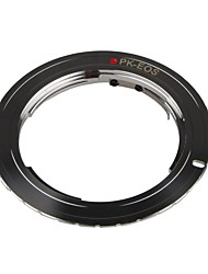 PK-EOS Lens Mount Adapter Pentax K/PK Lens to Canon EOS Camera for Canon EOS 1DS Mark II III IV 5D Mark II 7D 50D