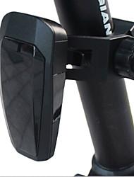 ungrol drahtlosen Bremswarn 10 geführt Automatik-Blitzbetrieb schwarzen wiederaufladbaren Fahrradrücklicht Smart-Warnung
