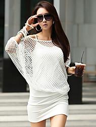 col rond coréen de style moulante costume de coco zhang femmes