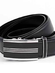 ALAN Men's All Match Automatic Leather Belt