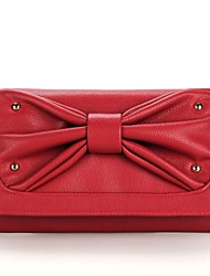 pu Casual Cross-Body bags/Shoulder Bags with Bowknot(More Colors)