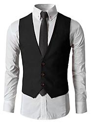Coton Men's Winter Style Fashion Comfortable Suit Vest