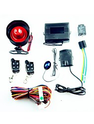 One Way Car Alarm System - Black