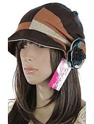 personalidade da moda chapéu colorido pescador das mulheres