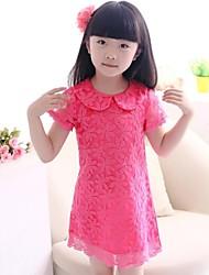 moda flor vestidos da menina vestidos queda linda princesa