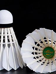 12 Pcs LYDOO GOLD 2 Durable Goose Feather  Badminton Balls
