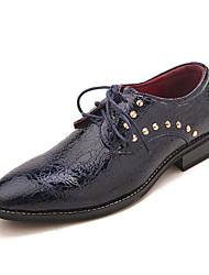 TPU Dark Navy Dress Shoes
