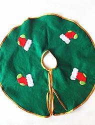 gonna albero di Natale diametro calze decorazione 50 centimetri
